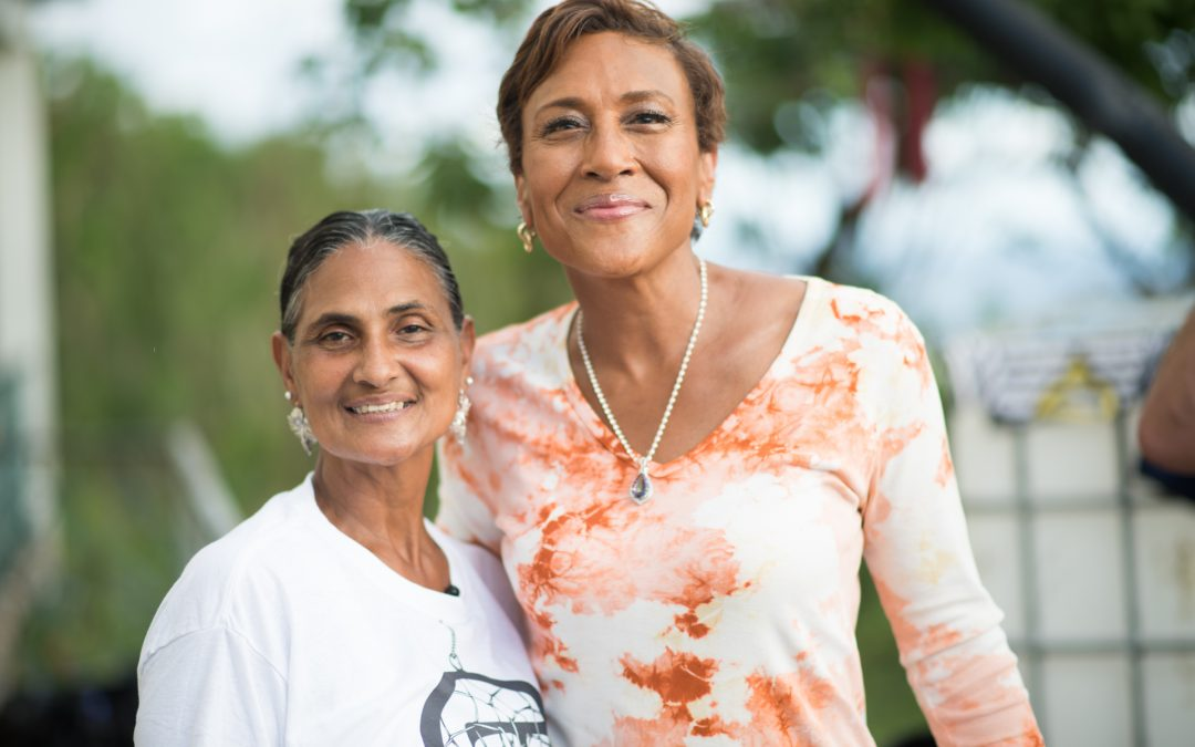ROBIN ROBERTS INTERVIEWS OPI'A TAINO FOR GOOD MORNING AMERICA